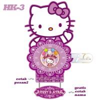 harga Jam Dinding Hello Kitty Ungu - Tizo HK-3 Tokopedia.com