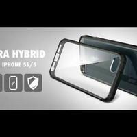 Casing Spigen Ultra Hybrid Iphone 5/5s Case Aksesoris Anti Shock