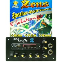 Kit / Rakitan Speaker Active+Echo WELL ZEUS 60W Mesin Speaker Aktif
