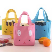 tas kanvas hewan lucu / cute animal cotton canvas lunch bag BTA013
