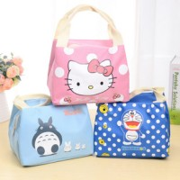 tas piknik motif kartun lucu / cartoon lovely picnic lunch bag BTA016