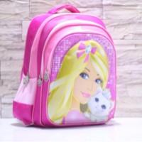 harga Tas Ransel Anak SD Barbie in Pink 6D Tokopedia.com