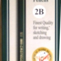 Pensil 2 B Pencils Potlot Faber Castell Isi 12 Buah Pieces