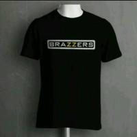 T-Shirt/kaos/kaos BRAZZERS,Distro terbaru