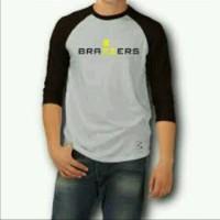 T-Shirt/kaos RAGLAN/ BRAZZERS,Distro terbaru