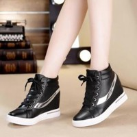 harga Sepatu Boots Wanita Sneakers Korea NEW Tokopedia.com