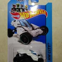 hotwheels hot wheels MaxSteel Turbo Racer putih