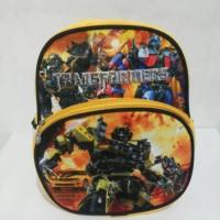 Jual Tas Ransel Anak TK Velboa Transformers TRT06T Murah
