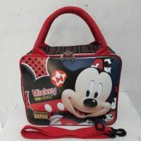 Jual Travel Bag / Tas Jalan Anak Spon Mickey TBS04M Murah