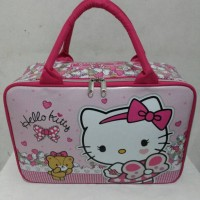 Jual Travel Bag / Tas Jalan Anak Spon Hello Kitty TBB07HK Murah