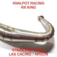 harga Knalpot Racing RX King RXZ RXS RXKing 3v3 Kolong Telo 2tak Stainless Tokopedia.com