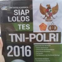 Siap Lolos Tes TNI-POLRI 2016 + CD