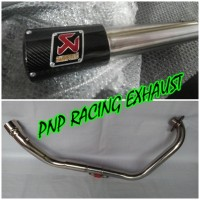 harga Knalpot Racing Akrapovic Gard Carbon Fullsystem Yamaha Byson, Scorpio Tokopedia.com
