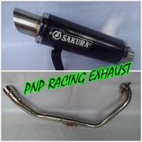 harga Knalpot Racing Sakura Fullsystem Yamaha Jupiter MX Old/New/King Tokopedia.com