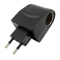 adaptor colokan lighter listrik gadget mobil rumah ac to dc inverter