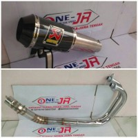 Knalpot Racing AKRAPOVIC GP M1 FOR ALL 250cc