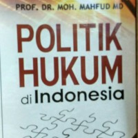 harga Politik Hukum Di Indonesia  Mahfud MD Tokopedia.com