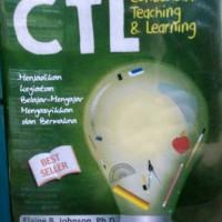 harga CTL CONTEXTUAL TEACHING LEARNING Tokopedia.com