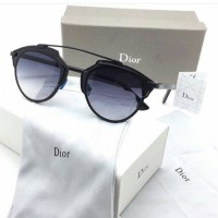 Kacamata Wanita Pria Dior SoReal AllBlack FULLSET Sunglass