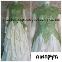 FnD labels Ainayya kebaya gaun eksklusif