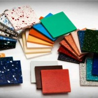 Koleksi warna solid surface