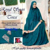 Royal Syari Tosca / Pakaian / Baju Muslim / Baju Gamis Lebaran 2016