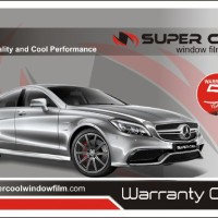Kaca Film Super Cool Platinum 40, 60, 80% ( u/Kaca Depan )
