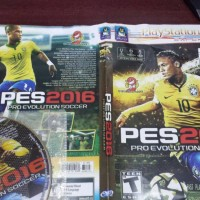 kaset game ps2 pes 2016