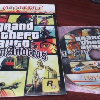 kaset game ps2 gta san andreas