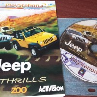 kaset game ps2 jeep thrills