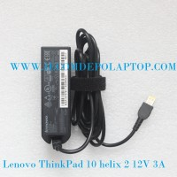 Adaptor Lenovo ThinkPad 10 helix 2 12v 3a usb Tablet ADLX36NCC2A