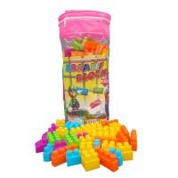 Ocean Toy Kreatif Block Isi 132pcs Mainan Anak OCT9202