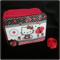Baby Bag Hello Kitty Bee Merah (Bisa Selempang dan Ransel) Organizer