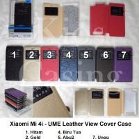 Xiaomi Mi 4i - Ume Leather Flip Cover View (Case Casing Sarung)