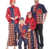 Busana Muslim Sarimbit Hai Hai Family