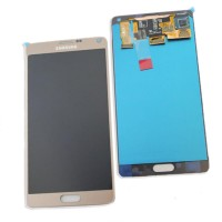 Lcd+Touchscreen Samsung Note 4 Gold