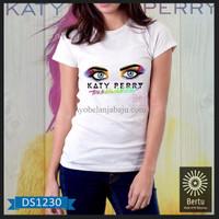 Jual T-Shirt Wanita The Movie Katy Perry Prism K 7HI1