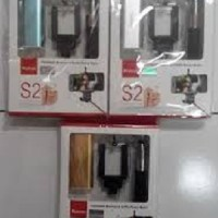 Power Bank Yoobao S2 5200mAh Tomsis Bluetooth + Tongsis (All in)