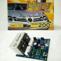 harga KIT POWER AMPLI MONO 200w by well, RAKITAN POWER AMPLIFIER Tokopedia.com