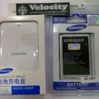 Baterai batere Original Samsung Note 3 + Dekstop Batere Samsung Note 3