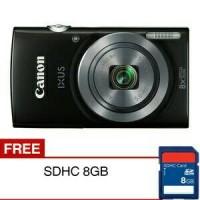 Camera Digital Canon Ixus 160 free 8Gb