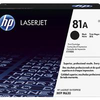 Toner - HP - HP 81A Black CF281A