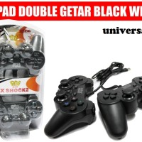 Gamepad Double Getar Hitam Welcom