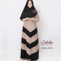 harga NEW DELISHA /Baju terusan muslim /Dress /Long dress /Gamis Tokopedia.com