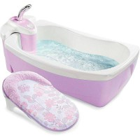 Summer Lil Luxuries Whirlpool Bubbling Spa and Shower Violet