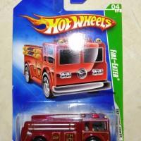 hotwheels - hot wheels TH Fire eater merah