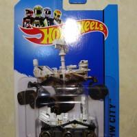 hotwheels hot wheels Mars Rovers ban hitam dan coklat