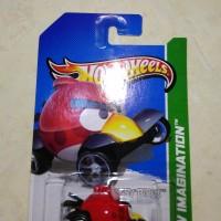 hotwheels - hot wheels Angry bird red 2012