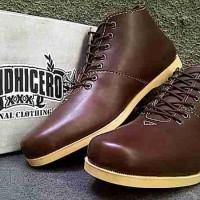 harga sepatu don dhicero brodo brown casual pria Tokopedia.com