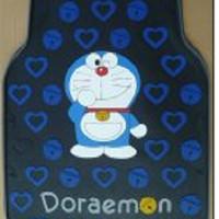Karpet Karet Mobil Doraemon - Black Blue TMNX